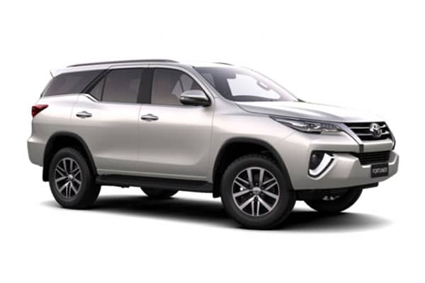 Toyota Fortuner 2017 Car Rental - AJ3s Transport Services Davao