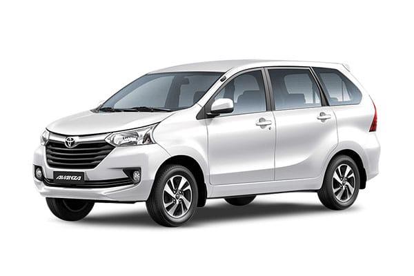 Toyota Avanza Car Rental - AJ3s Transport Services Davao