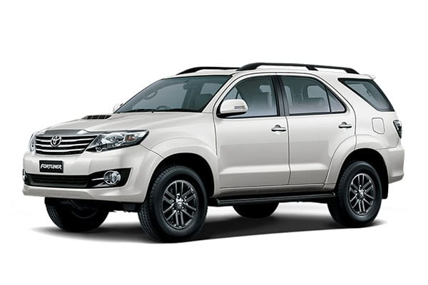 Toyota Fortuner Car Rental - AJ3s Transport Services Davao