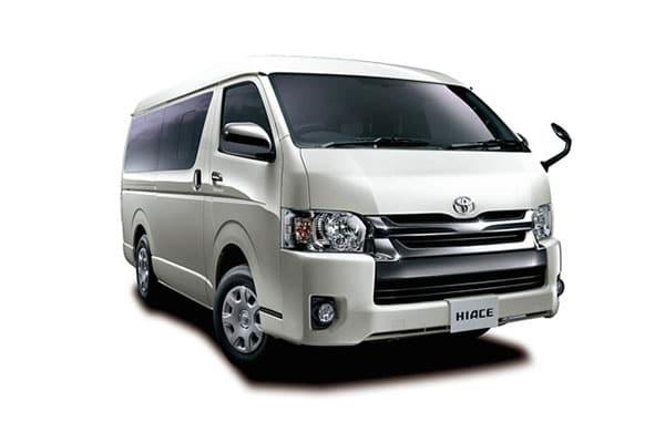 Toyota HiAce Van Rental - AJ3s Transport Services Davao