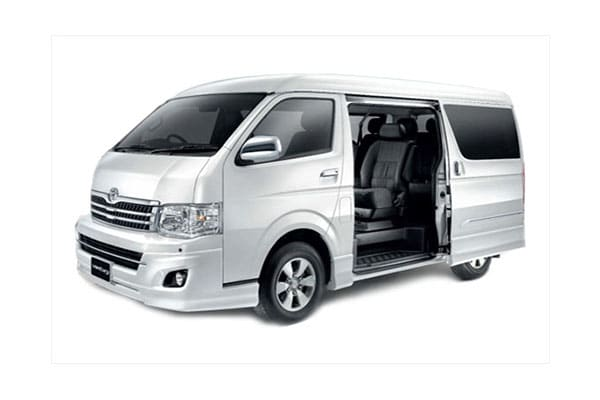 Super Grandia Van Rental - AJ3s Transport Services Davao