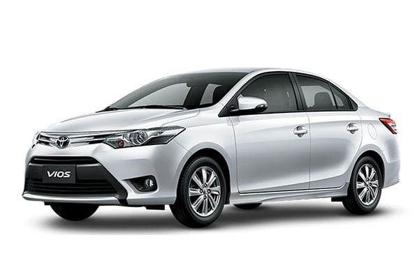 Toyota Vios Car Rental - AJ3s Transport Services Davao
