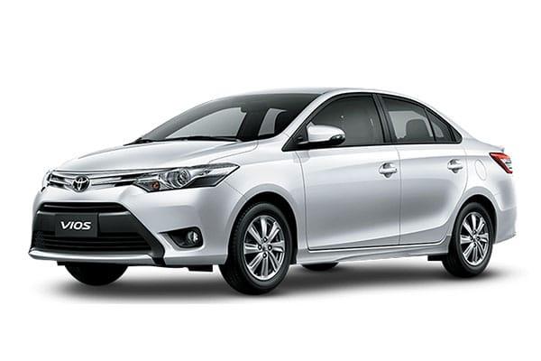 Toyota Vios Car Rental - AJ3s Transport Services Davao