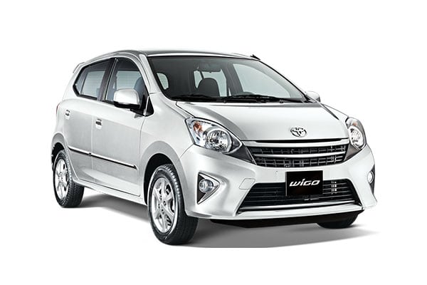 Toyota Wigo Car Rental - AJ3s Transport Services Davao