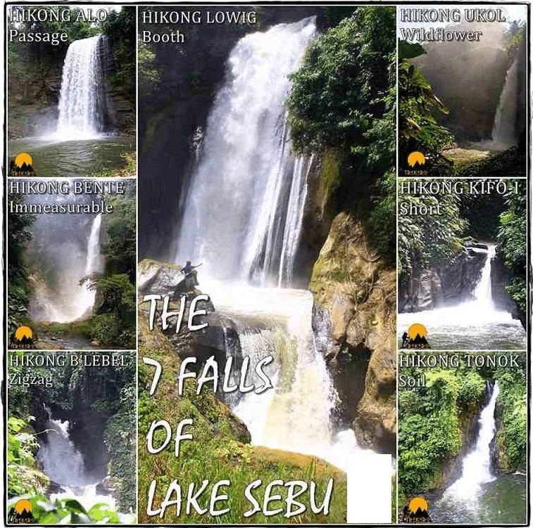 Seven (7) Falls Of-Lake Sebu - Davao Van Rental Tour