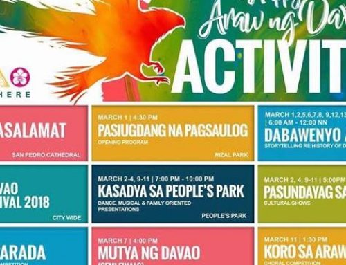 Come and Celebrate the 82nd Araw Ng Davao With Us
