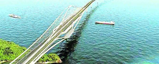 Proposed Davao-Samal Bridge