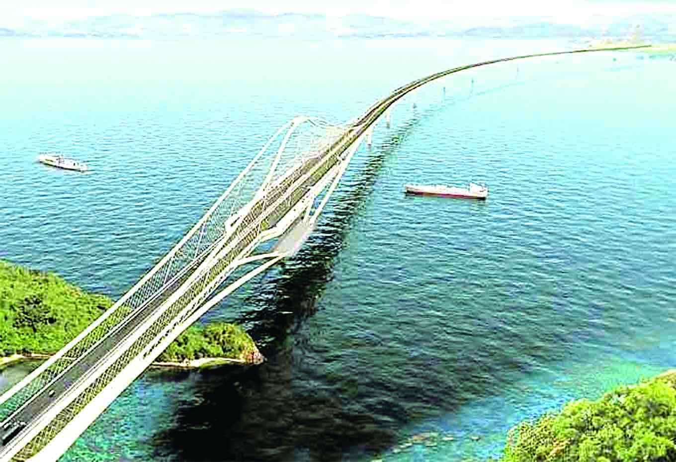 Proposed Davao-Samal Bridge