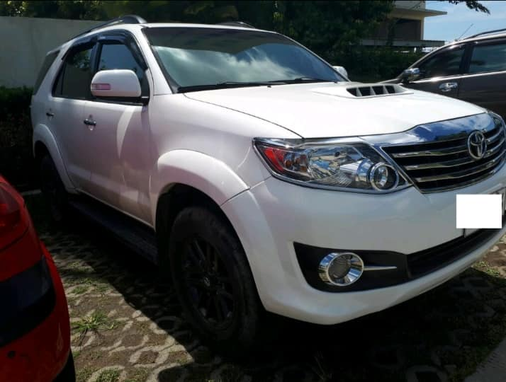 Toyota Fortuner For Rent in Davao Ciy