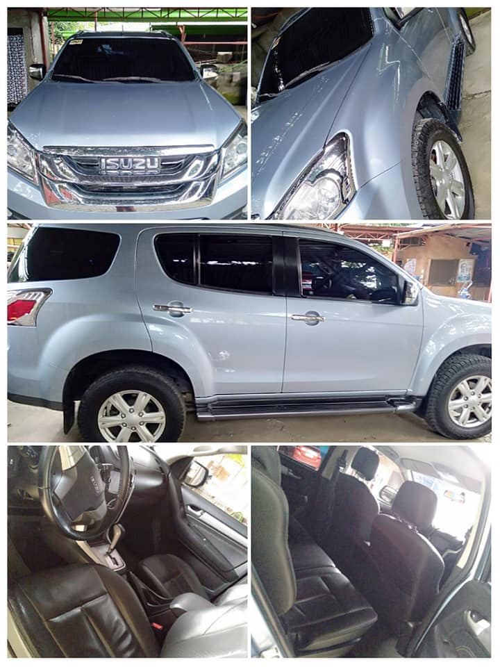 Isuzu mu-X for Rent in Davao City