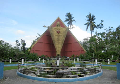 Christ the King Wooden Rosary, Tagum City