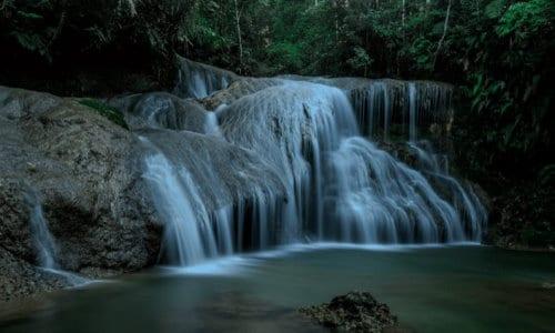 Epol Falls in Baganihan, Marilog District