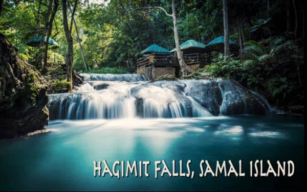 Hagimit Falls in Samal Island