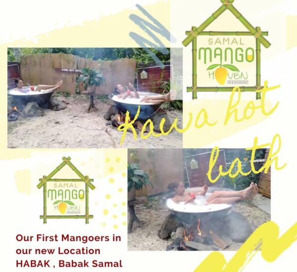 Kawa Hot Bath at Samal Mango Haven, Samal Island