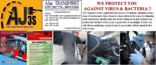 Virus Protection AJj3s Transport Davao City